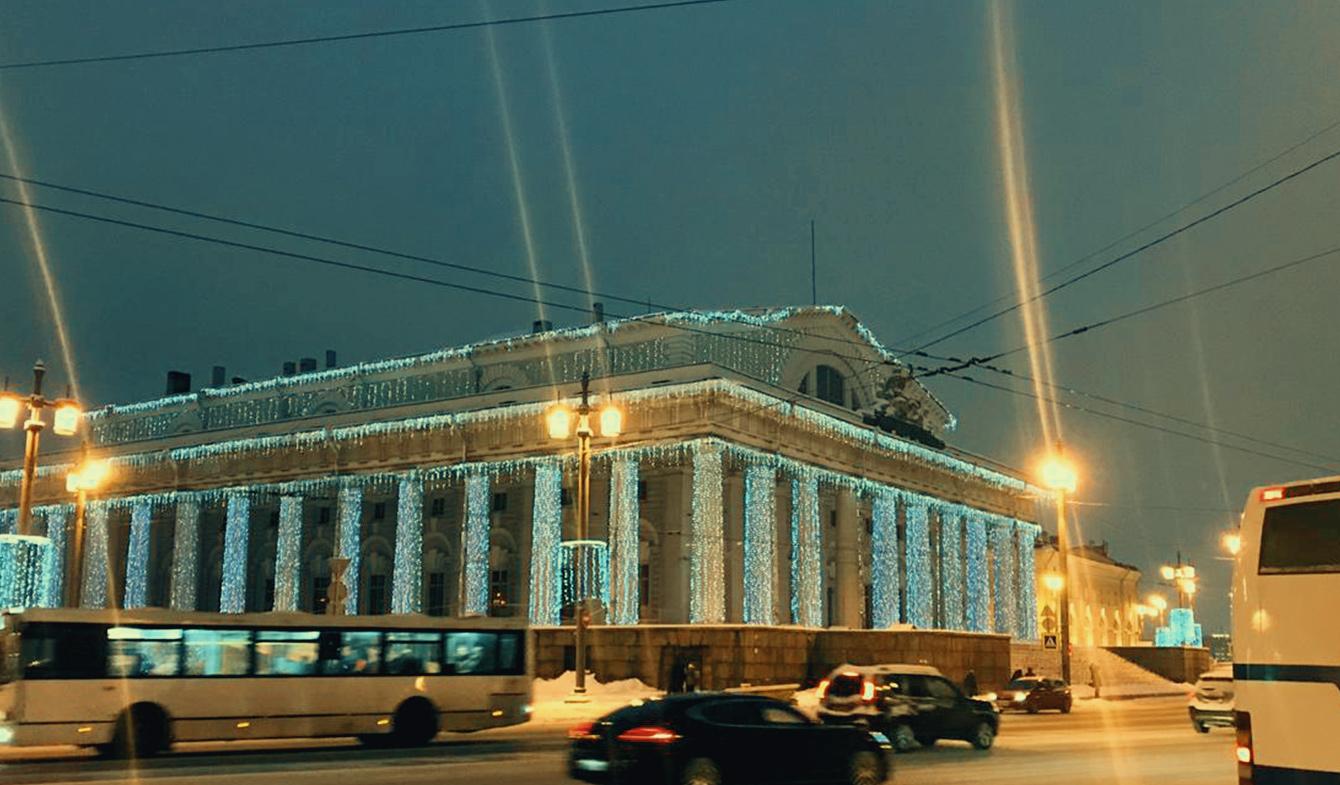 Биржевая площадь (здание Биржи)